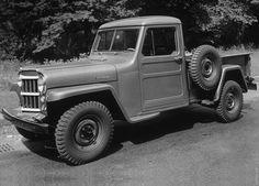 1954 Jeep 4WD 1 Ton Pickup Truck