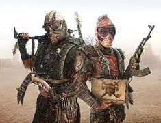 During the OpHuMod hiatus, was able to catch the latest trailer for Mad Max: Fury Road, but was greatly disappointed when I learned that the film itself is not due to be released until But th… Post Apocalyptic Costume, Post Apocalyptic Fashion, Post Apocalypse, Apocalypse Survival, Mad Max, Fallout, Character Inspiration, Character Design, Wasteland Warrior