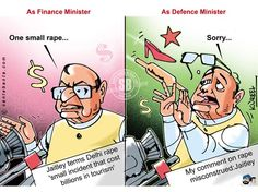 Finance Minister Arun Jaitley was on Friday caught in a controversy over his remark terming the December 16 Delhi gangrape as a `small rape incident.` He later expressed regret for his remarks.