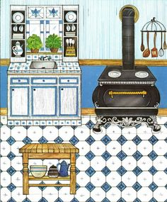 Kathleen Taylor's Dakota Dreams: Thursday Tab- Whitman The Ginghams- Sarah's Country Kitchen