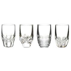 Waterford Mixology Shot Glasses- Clear, Set of 4