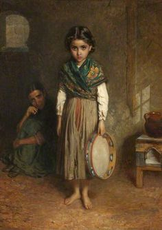 A Little Spanish Gipsy // I imagine Lenora looking very much like this as a child.