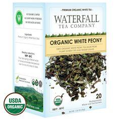 Organic White Peony