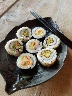 Wild Albacore Tuna in sushi