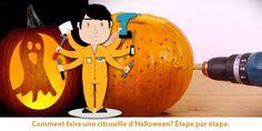Perceuse combinée Makita : Comment faire une citrouille d'Halloween?