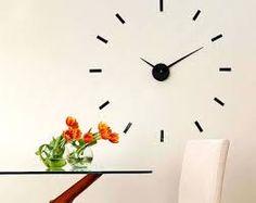 Resultado de imagen de reloj adhesivo pared