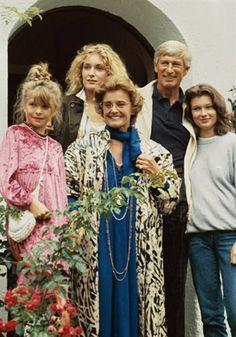 Die glückliche Familie, TV-Serie, Erstausstrahlung Okt. 1987, u. a. mit Maria Schell, Siegfried Rauch, Maria Furtwängler