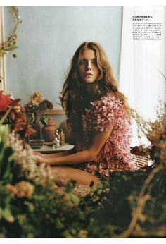 Madame Figaro Magazine, April 2012, via bonnie tsang