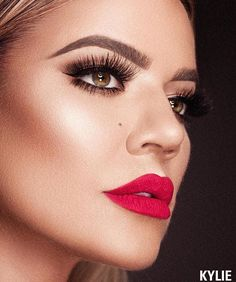 """WEBSTA @ khloekardashian - I'm wearing """"Okuurrr"""" which launches today at 3pm in my limited lip kit collection!!! Woot woooot"""