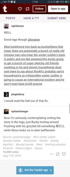 Bucky Barnes speaking Chinese 2/2