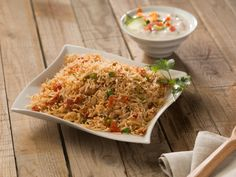 Tomato Rice Recipe - A healthy, delicious rice preparation with the full-bodied flavour of fresh ripe tomatoes, rich with traditional Indian spices.