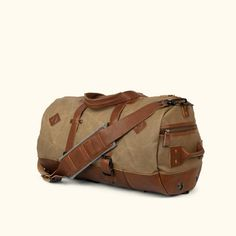 c58d7a1dde Dakota Waxed Canvas Duffle Bag Backpack