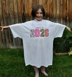 Kindergarten First Day of School till the End at Senior Graduation Shirt Year Memory Shirt that lasts 12 years Classic Keepsake PERSONALIZED on Etsy, $24.95