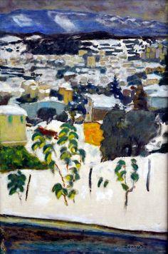 Pierre Bonnard - Effet de neige oder Le Cannet...