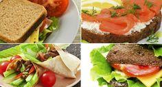 Receitas de sanduíches saudáveis para substituir uma refeição title=