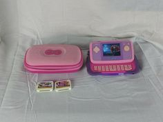 VTech MobiGo 2 Pink Touch Learning System with Case and 3 Games  #VTech