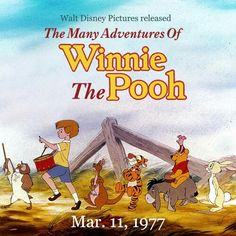 The Many Adventures of Winnie the Pooh March 11, 1977