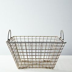 Vintage French Oyster Basket: Straight from the sea. #food52