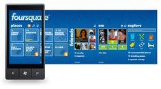 Foursquare Windows Phone Uygulaması Yenileniyor