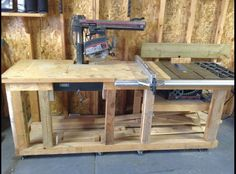 """3HP 10"""" Craftsman Radial saw and 3HP 10"""" Craftsman Table saw"""