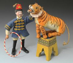 The lion tamers is Present at any circus ; its's not real a circus without them. They produce rough and wild fringe of the circus ,boosting the exotic feel in all.