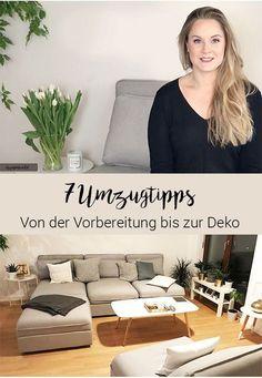 Ein Umzug ist stressig, keine Fragen. Doch mit diesen Tipps kannst du alles meistern: Von der Vorbereitung, übers Packen, hin bis zur Einrichtung und Dekoration. #tipps #umzug #inspiration #interieur #inneneinrichtung #wohnen #deko #homedesign