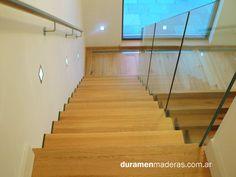 Escaleras de Madera DURAMEN MADERAS, Decks, Escaleras, Pérgolas, Tarugados, Entablonados, Parquets, Venta y Colocación Maderas Nacionales e Importadas