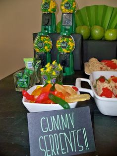 guilt free style: GREEN NINJA PARTY *GUILT FREE STYLE*