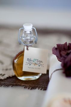 homemade maple syrup favors diy wedding
