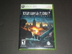 Turning Point Fall Of Liberty Xbox 360 Game W/Free Shipping