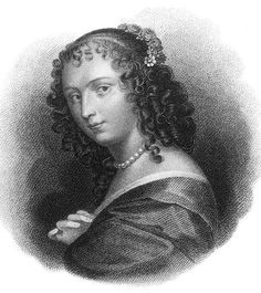 """1620–1705, French courtesan and wit.   Her real name was Anne de Lenclos. She numbered among her many lovers and friends such eminent men as the Great Condé, La Rochefoucauld, and Saint-Évremond. She gathered in her Paris salon a circle of wits and literary figures, and encouraged the young Moliere.  """"That which is striking and beautiful is not always good; but that which is good is always beautiful.""""   image and text from: www.answers.com/topic/ninon-de-l-enclos"""