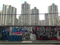Some rare Shanghai graffiti.