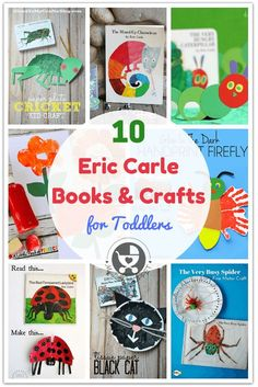 Eric Carle is a name Moms everywhere are familiar with. On his birthday, we feature the top 10 Eric Carle books and crafts for toddlers to read and make!