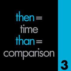 Then vs Than Grammar Mistake