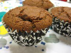 Ginger Lemon Girl: Gluten Free, Vegan Dark Chocolate Muffins Recipe