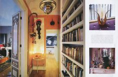 "Isabella Blow : Belgravia apartment as it appeared in the March issue of ""World of Interiors"" Isabella Blow, Entry Hallway, World Of Interiors, Creature Comforts, Pastel Colors, Interior And Exterior, Interior Decorating, Gallery Wall, Home Appliances"