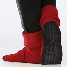 0835f4df4f80 Janska® MocSocks® - Unisex Non Skid Fleece Slipper Socks
