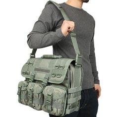 MOLLE Tactical Laptop Briefcase - Rothco – OPSGEAR