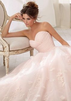 Once again, make this white and BAM pure beauty!     Dresses For Teens    Quinceanera Dresses White  