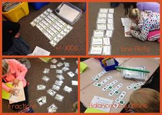 Lory's Page: Math Stations... Simple, Easy, Fun and Effective!