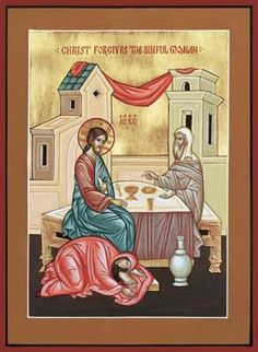 Forgiving the Sinful Woman, The Holy Transfiguration Monastery Store