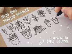 Bullet Journal 50+ Doodle Ideas - YouTube