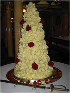 #Croque em bouche #french #cake #wedding