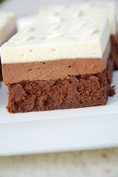 Makeaa murmelin täydeltä: Tuplasuklaaleivokset Cheesecake, Sweets, Baking, Desserts, Food, Kitchen, Tailgate Desserts, Deserts, Cooking