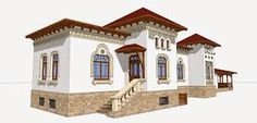 Imagini Mansions, House Styles, Home Decor, Decoration Home, Manor Houses, Room Decor, Villas, Mansion, Home Interior Design