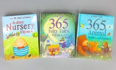 Groupon - Set of 3 Children's Story and Nursery Rhyme Books in [missing {{location}} value]. Groupon deal price: $19.99