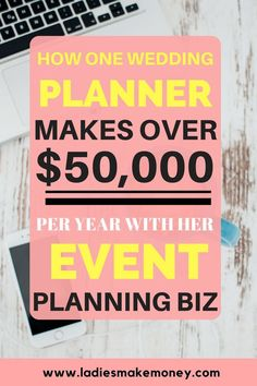 How to make money with your event planning business. How to book more brides for your wedding business. starting a wedding planning business . How to start an event planning business that makes money. How to promote your wedding business to book more brid