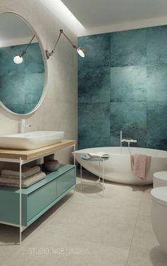 Small Bathroom Interior, Modern Bathroom Tile, Ideal Bathrooms, Bathroom Design Small, Bathroom Styling, Beach House Bathroom, Bathroom Tub Shower, Hall Bathroom, Bathroom Renovations