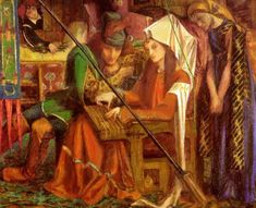 The Tune Of The Seven Towers 1857 Metal Print by Rossetti Dante Gabriel Dante Gabriel Rossetti, Fine Art Posters, Pre Raphaelite, Canvas Prints, Art Prints, Office Art, Poster Making, Art Reproductions, Vintage Posters