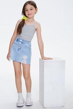 Little Girl Fashion Clothes, Cute Little Girls Outfits, Young Girl Fashion, Little Girl Models, Preteen Girls Fashion, Cute Girl Dresses, Kids Outfits Girls, Cute Casual Outfits, Cute Summer Outfits